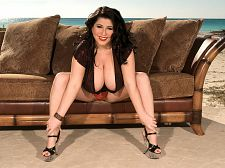Natalie Fiore & Her Enormous Dangling Hooters